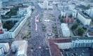 Воскресная акция протеста в Минске стала крупнейшей в истории Беларуси